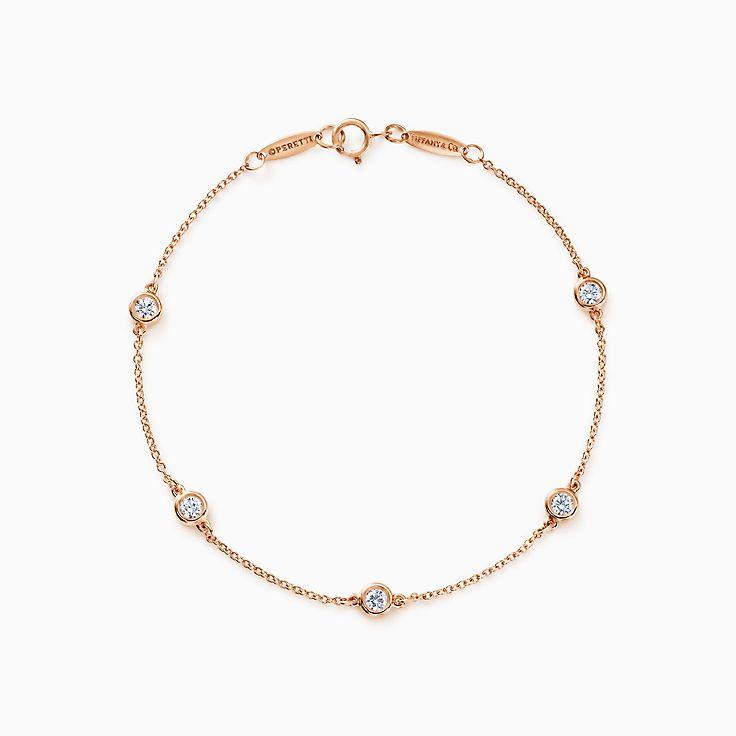 Elsa Peretti® 系列:Diamonds by the Yard™ 手链