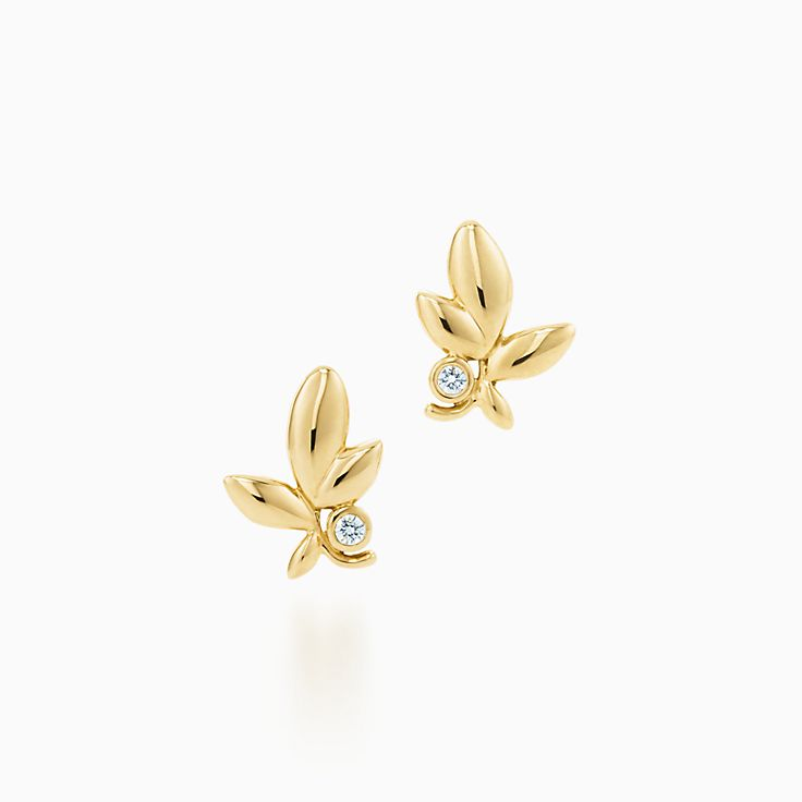Paloma Picasso® 系列:Olive Leaf 耳环