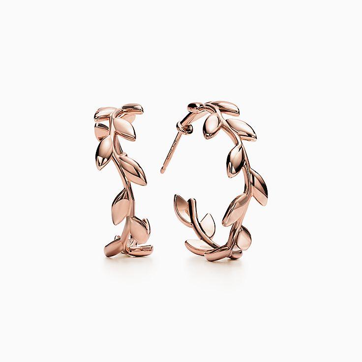 Paloma Picasso® 系列:Olive Leaf 圈形耳环