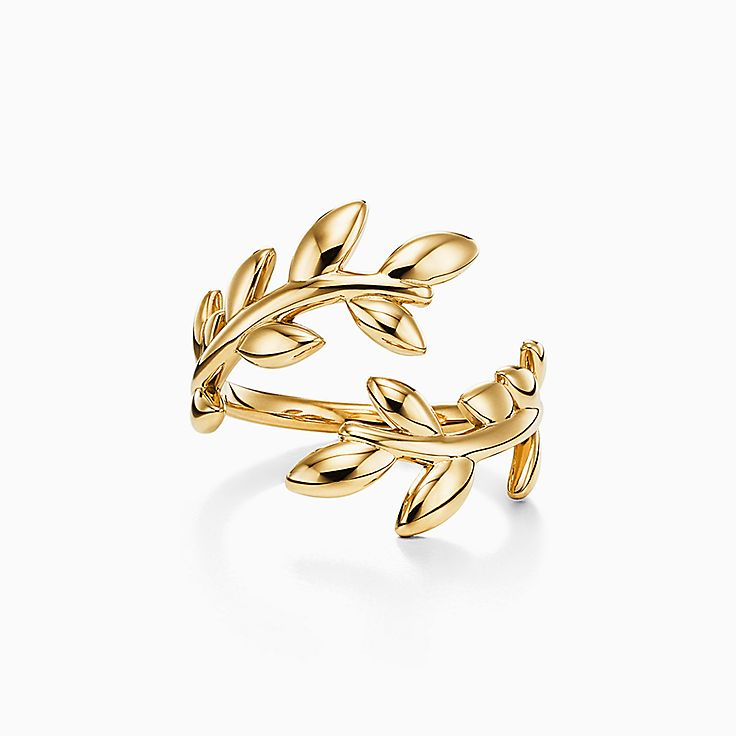 Paloma Picasso® 系列:Olive Leaf 环绕式戒指