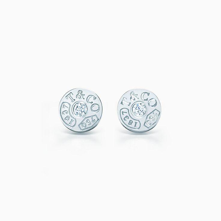 Tiffany 1837® 系列:圈形耳环