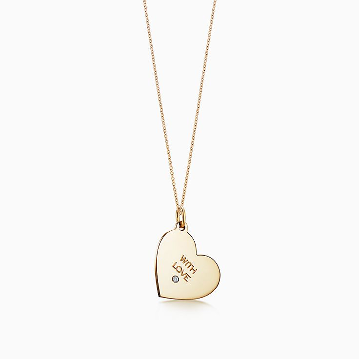 "Tiffany Charms 系列:""With Love""吊饰"