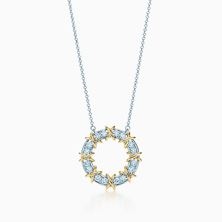 Tiffany & Co. Schlumberger 系列:Sixteen Stone 圈形项链