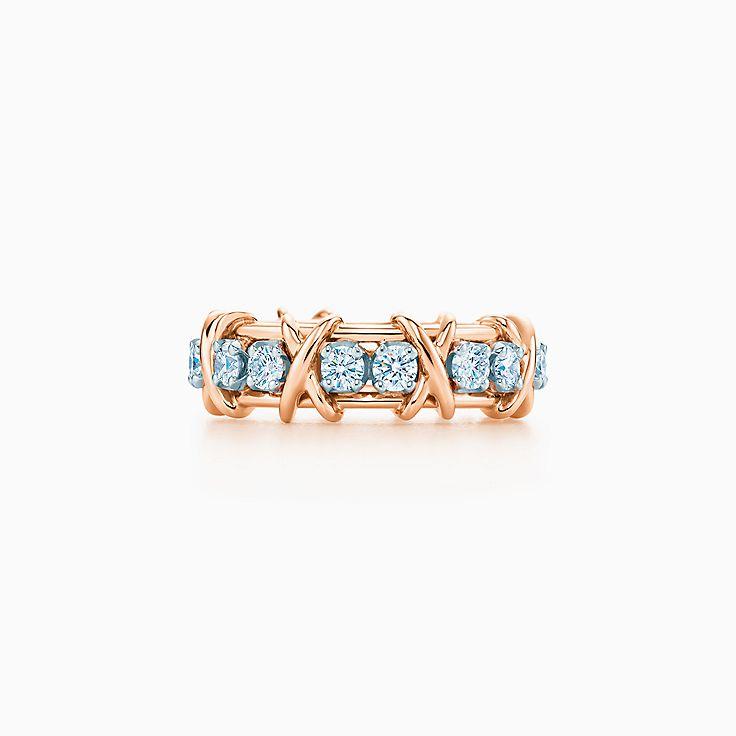 Tiffany & Co. Schlumberger 系列:Sixteen Stone 戒指