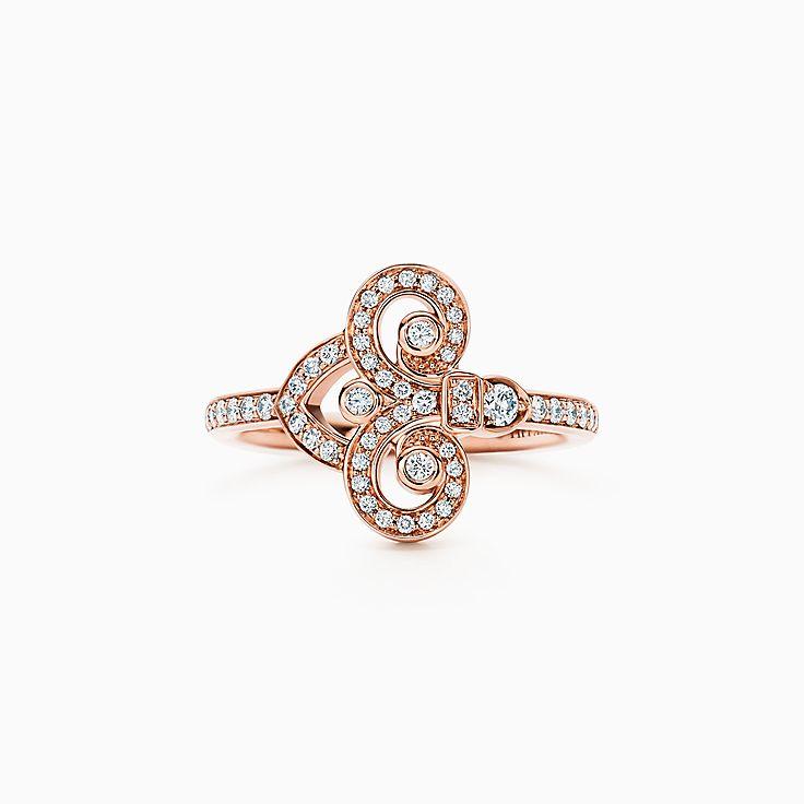 Tiffany Fleur de Lis 系列:戒指