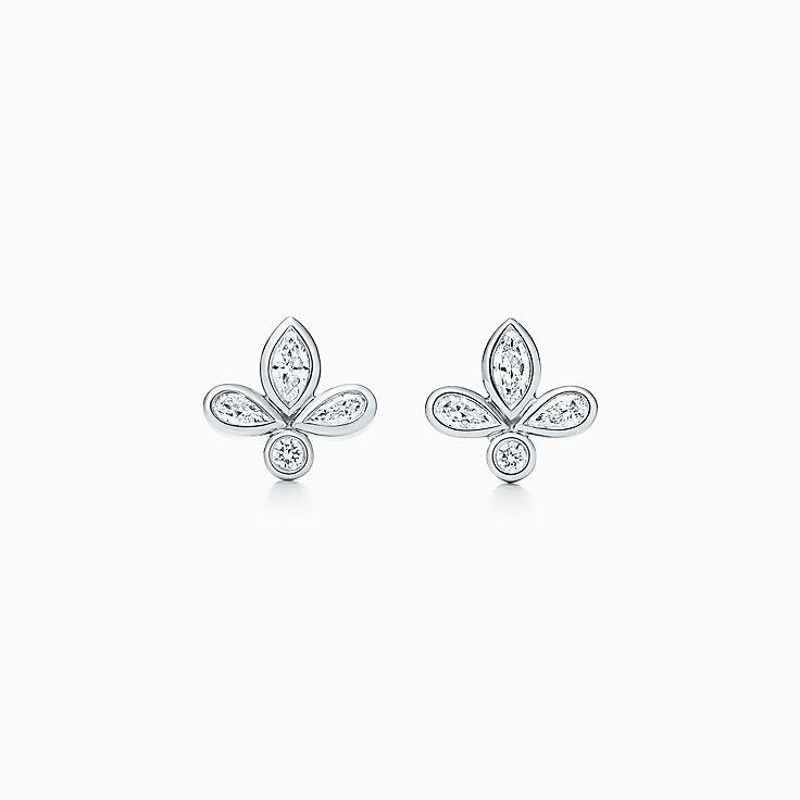 Tiffany Fleur de Lis 系列:耳环