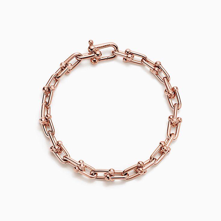 Tiffany HardWear 系列:扣环手链