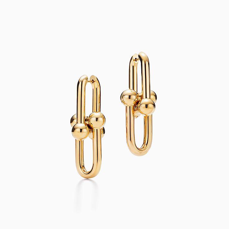 Tiffany HardWear 系列:链环耳环
