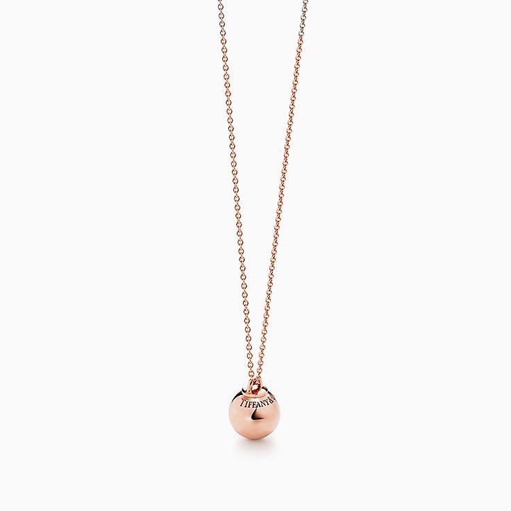 Tiffany HardWear 系列:球形装饰项链
