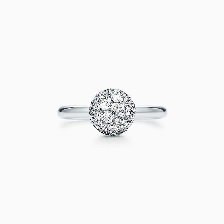 Tiffany HardWear 系列:球形装饰戒指