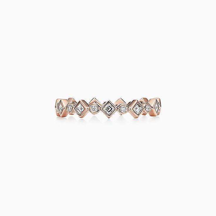 Tiffany Jazz™ 系列:戒指