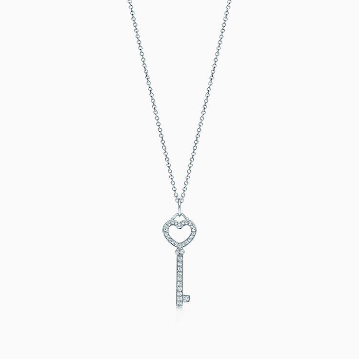 Tiffany Keys 心形钥匙吊饰