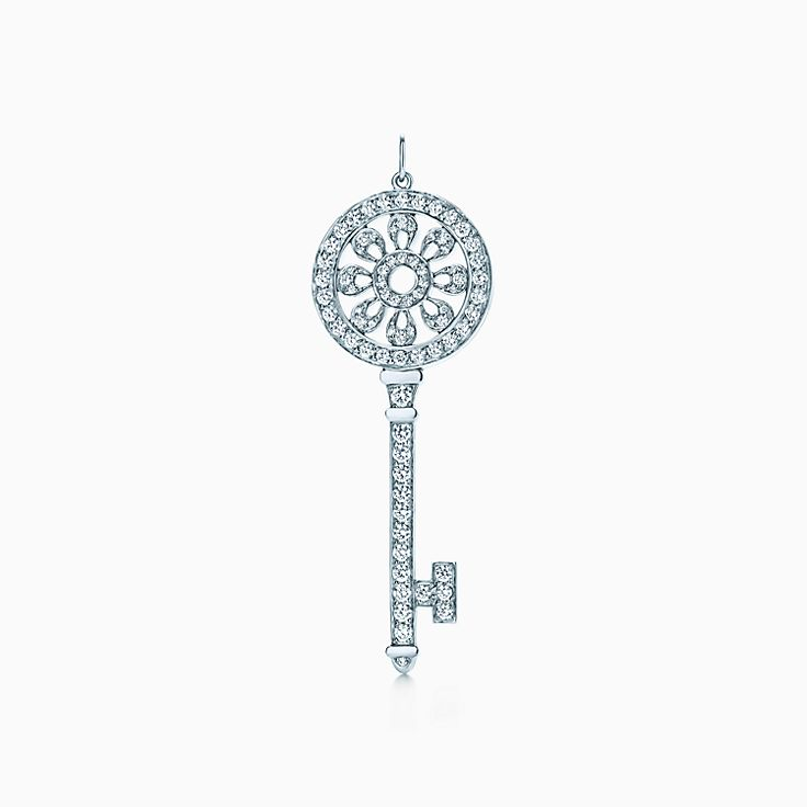 Tiffany Keys 系列:花瓣钥匙吊坠