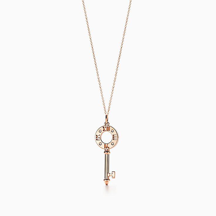 Tiffany Keys 系列:Atlas® 镂空钥匙吊坠