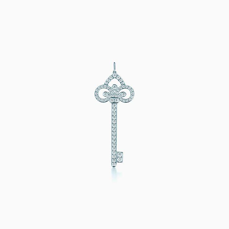 Tiffany Keys 系列:Fleur de Lis 钥匙吊坠