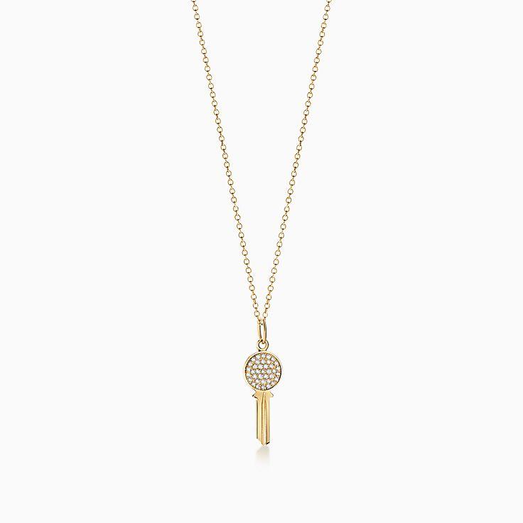 Tiffany Keys 系列:Modern Keys 圆形钥匙吊坠