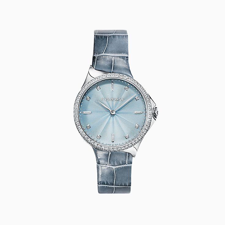 Tiffany Metro 系列:2-Hand 28 毫米腕表