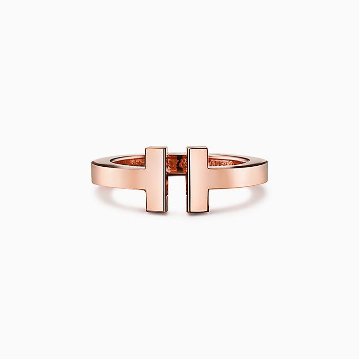 Tiffany T 系列:方形戒指