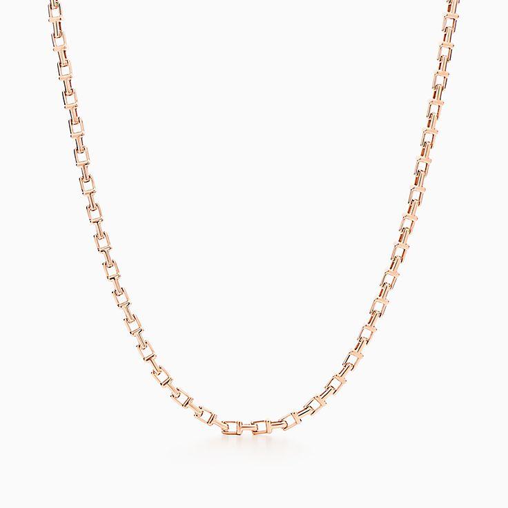 Tiffany T系列:窄式链结式项链