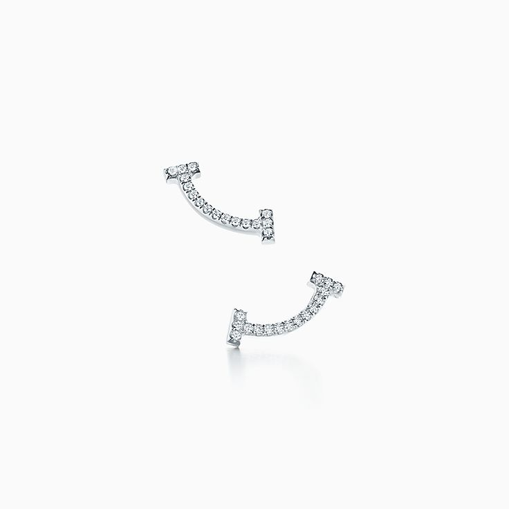 Tiffany T 系列:微笑耳环