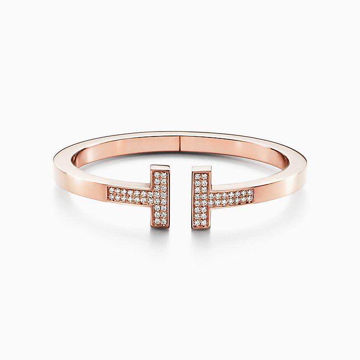 Tiffany T 系列:方形手镯