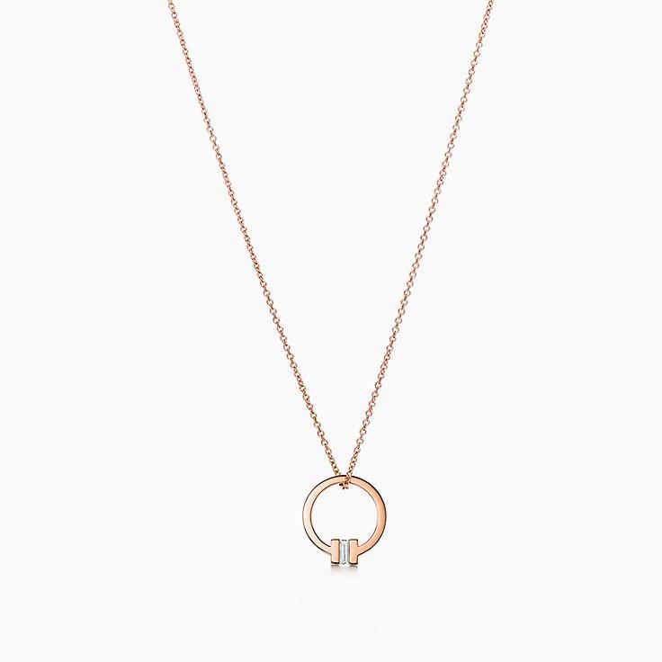 Tiffany T 系列:方形项链