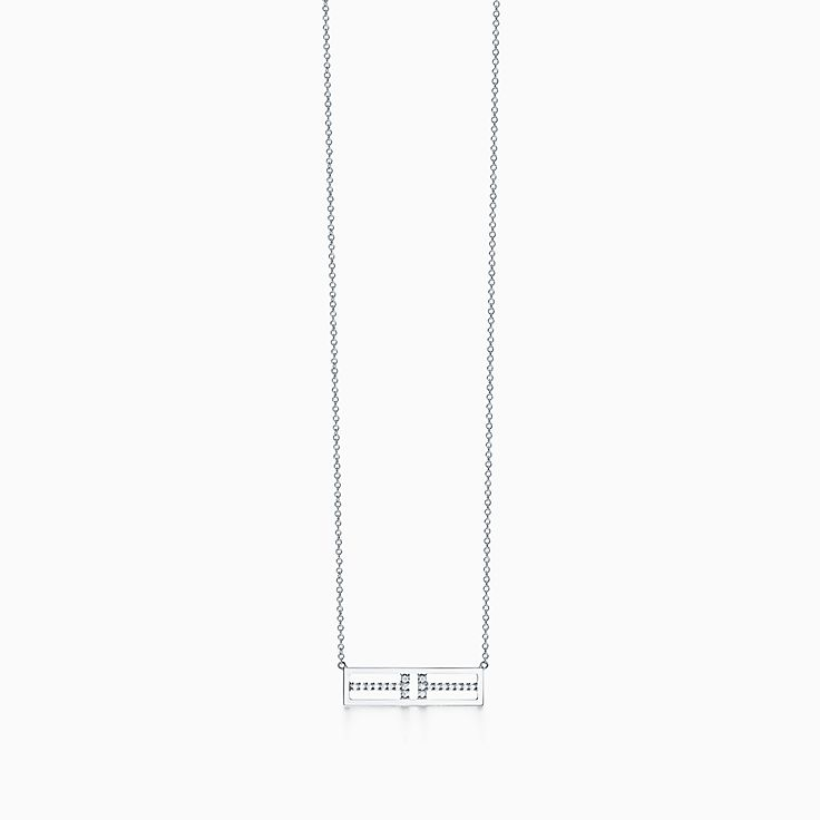Tiffany T 系列:T Two 水平项链
