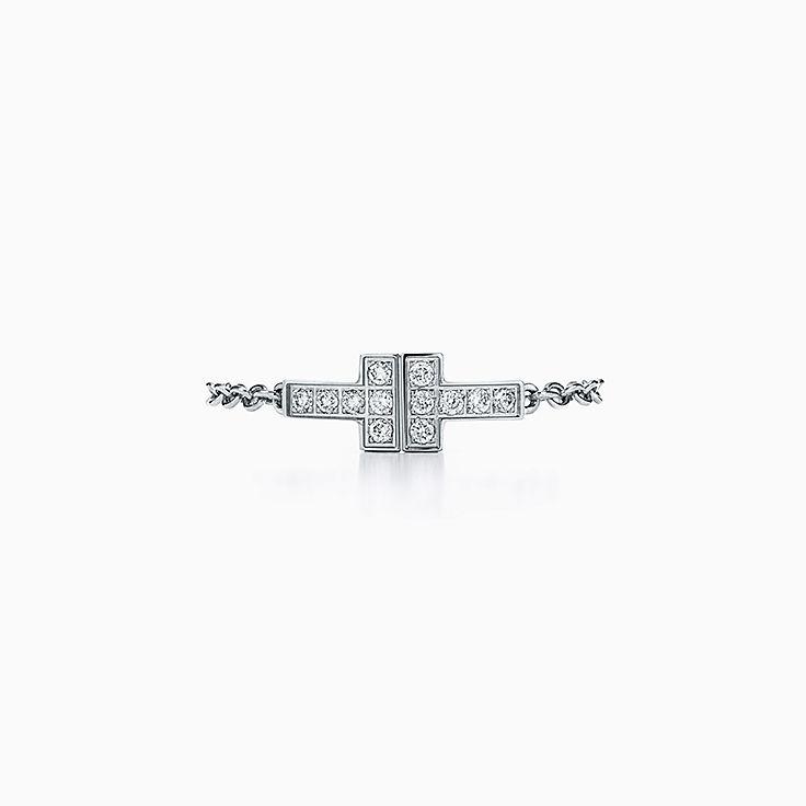 Tiffany T 系列:T Two 链条戒指