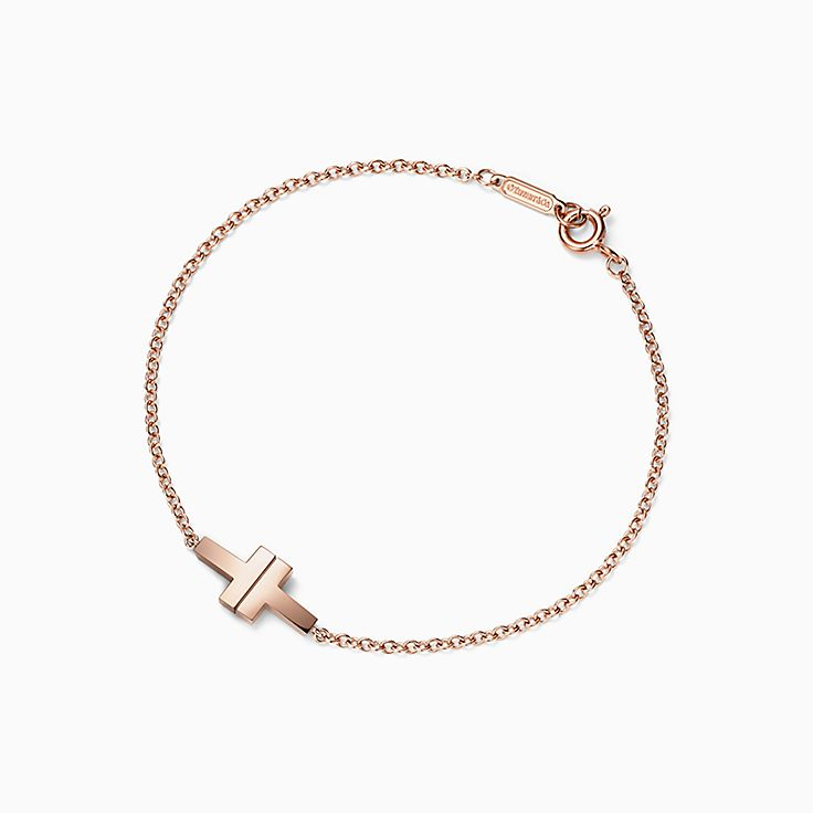 Tiffany T 系列:T Two 单链手链
