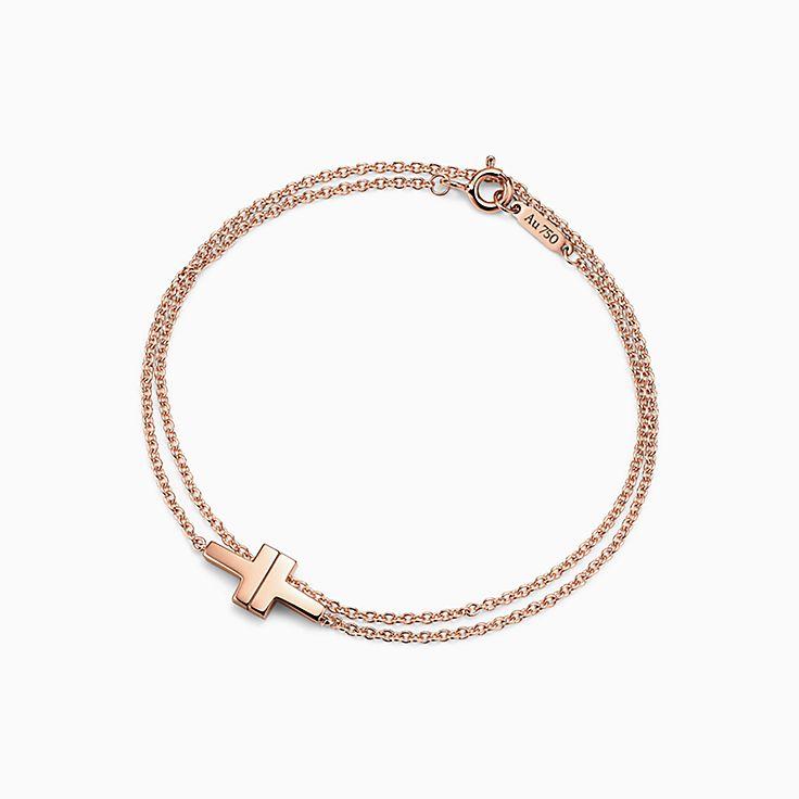 Tiffany T 系列:T Two 双链手链