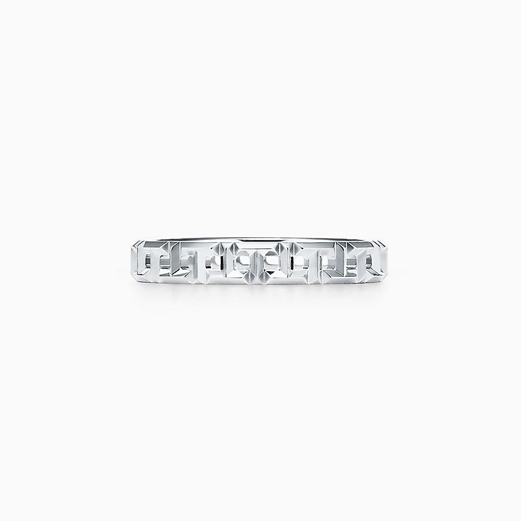 Tiffany T 系列:True 窄式戒指