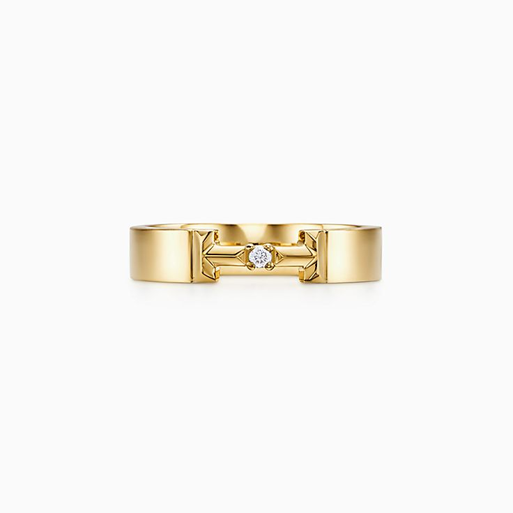 Tiffany T 系列:True 钻石扣环戒指